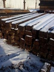 Шпалы бу деревянные оптом с доставкой по регионам