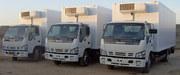 Доставка грузов на рефрижераторах 5, 10, 20 тонн (+25/-25гр.)
